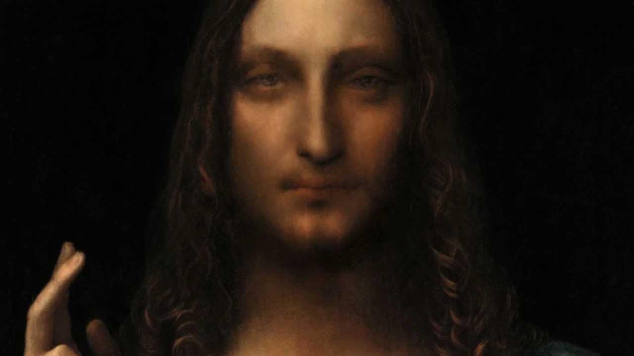 Salvator Mundi Leonardo Da Vinci - Viewing Gallery Da Vinci Paintings