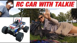 TRENDING FUN: VIDEO GAG - RC CAR CAM & TALKIE ONBOARD  - DRONE FPV