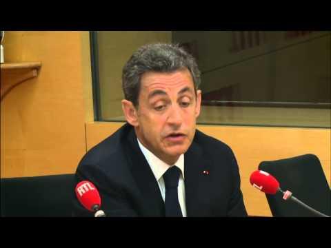Nicolas Sarkozy, invité de RTL, le 12 janvier 2015