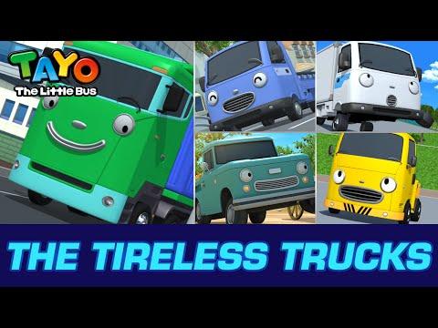 [Meet Tayo's Friends] #4 The Tireless Trucks