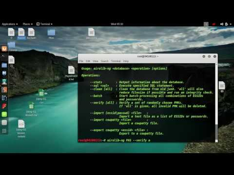 IN HINDI/URDU Speed Aircrack ng Cracking Password From 2048kbs to 143756kbs