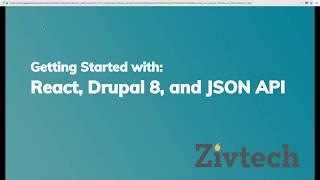 Getting Started with React, Drupal 8, and JsonAPI