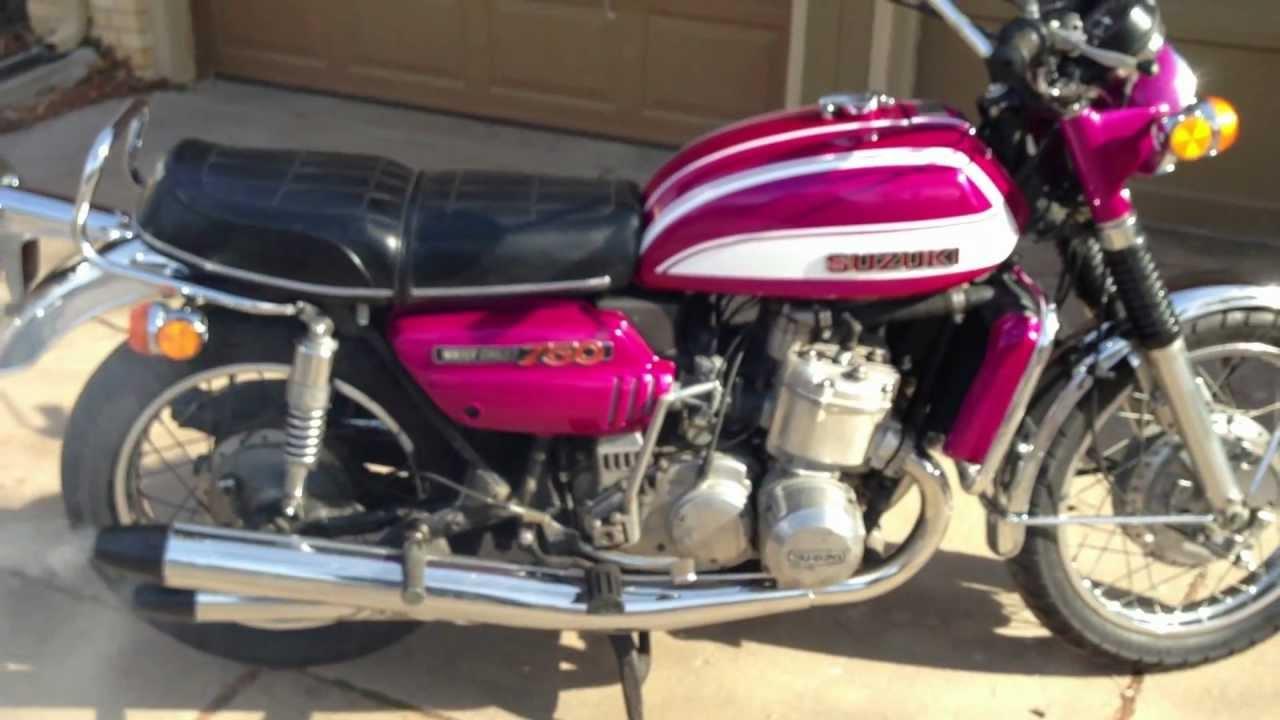 Buffalo For Sale >> 1972 Suzuki GT750J Water Buffalo GT750 J Restore *Beautiful Paint* FOR SALE!!! - YouTube