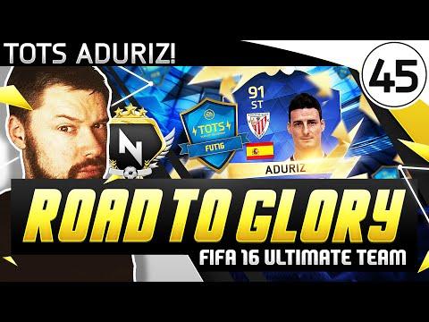 TOTS ADURIZ! - FUT ROAD TO GLORY!! - #45 - FIFA 16 Ultimate Team