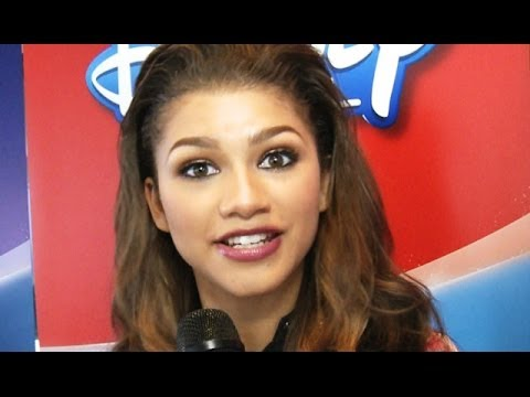 Zendaya Coleman Shares Her First Onscreen Kiss video