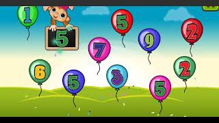 Balloon Pop Kids Learning Game Free for babies | Balloons Learn Game for Kids & Toddlers #3