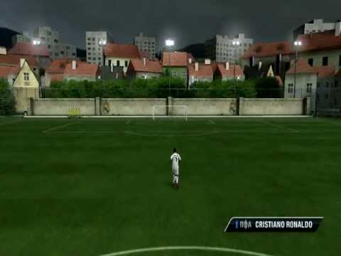 fifa 11 как забить гол пяткой: