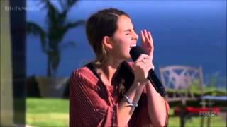 Carly Rose Sonenclar nails it on Judges House (The X Factor USA 2012)