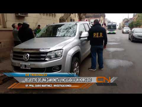 Fue secuestrada una camioneta vinculada a la muerte de Cristian Gauto