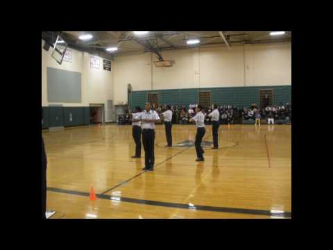 MA-952 Putnam Vocational Technical High School AFJROTC Unarmed Exhibition Drill Team HSST 2010