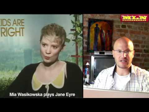 Jane Eyre - Cary Fukunaga, Mia Wasikowska, Michael Fassbender, Jamie Bell -- Tyrone Rubin Film Show