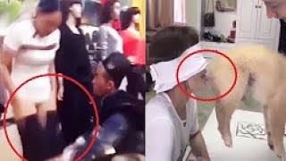 Funny Pranks 2017 People doing stupid things - Try not to laugh.2017