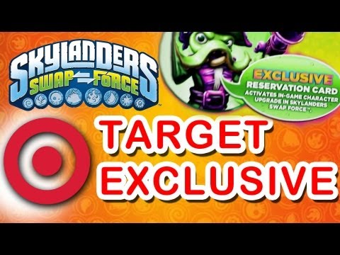SwapForce Target Exclusive Character Upgrade Unlocked & Free when Pre-Order