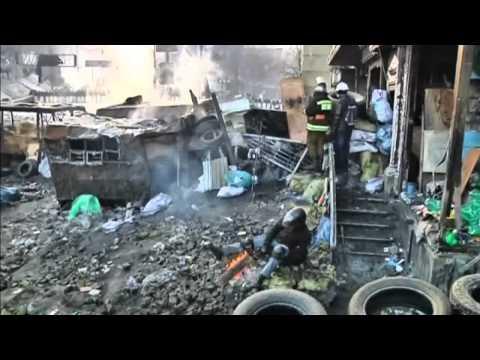 Violent protests continue in Ukraine capital, Kiev