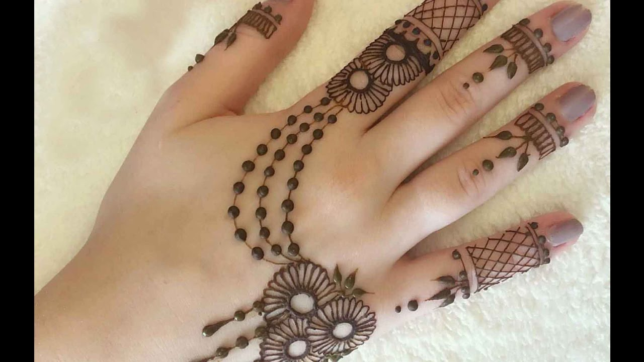 Latest Mehndi designs for Eid and Wedding - Latest Handmade Arabic images design of mehndi