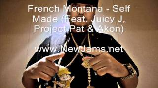 Watch French Montana Self Made wjuicy J Project Pat  Akon video