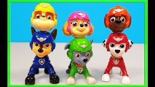 Learn Colors with Paw Patrol Wrong Heads Double Heads Beads Stick Heads