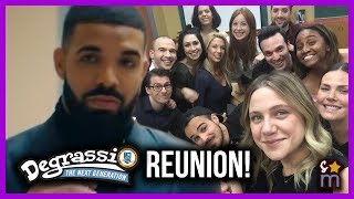 Every Degrassi Actor In Drake 39 S I 39 M Upset Music Audio Reunion Then Now