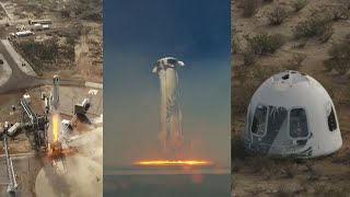 Blue Origin NS-12: New Shepard launch & landing, December 2019