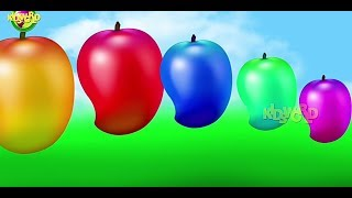 Colourfull mango   .painting mango videos    baby  play &learn..