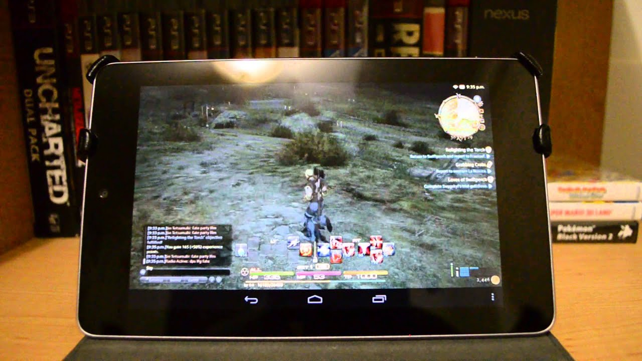leave stream pc games to android tablet example, after