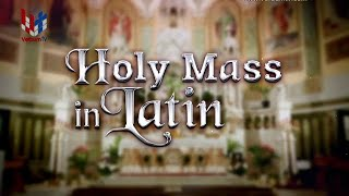 HOLY MASS IN LATIN - 04 07 2020