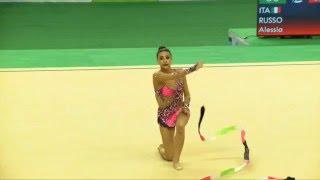 Rio de Janeiro - Test Event: Alessia Russo / Nastro (qualifiche)