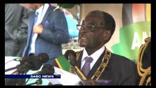 Mugabe expressed shock and disgust at ongoing xenophobic attacks