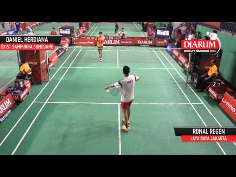 Daniel Hardiana (PB Exist Sampurna Sumedang) VS Ronal Regen (PB Jaya Raya Jakarta)