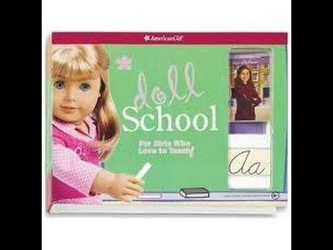 American Girl Doll School- First Day Of School