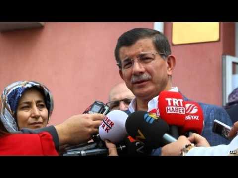 Turkey election PM Davutoglu resigns in procedural move