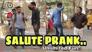 Salute Prank | Funniest Prank 2019 | Pranks In India | Prankholic |