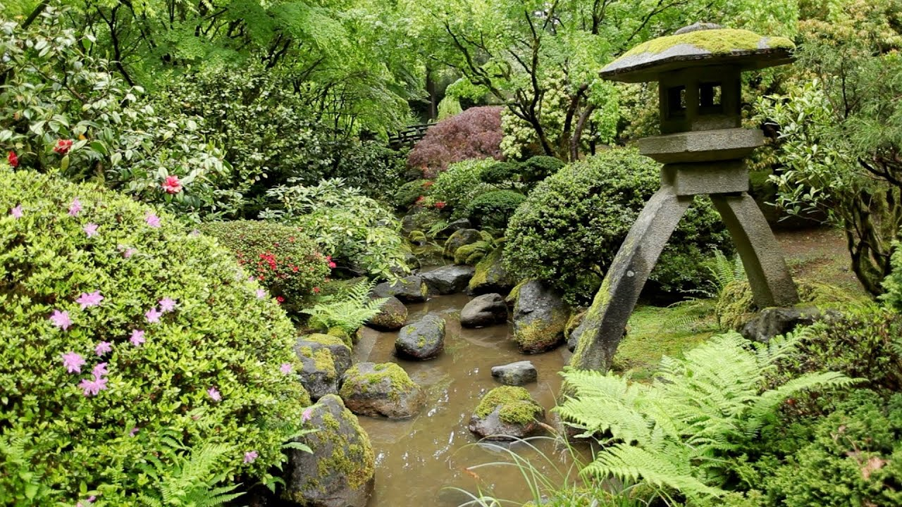 1080p nature relaxation video zen garden peaceful for Japanese meditation garden