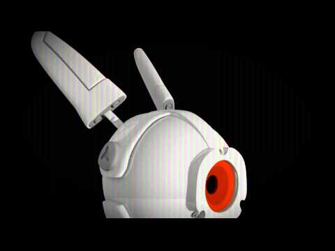 CGCookie Modeling exercise; little Bot Bunny