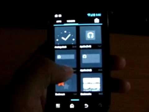 CM10 on Motorola Defy Android Jelly Bean 4.1