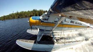 DHC-2 floatplane take-offs and landings