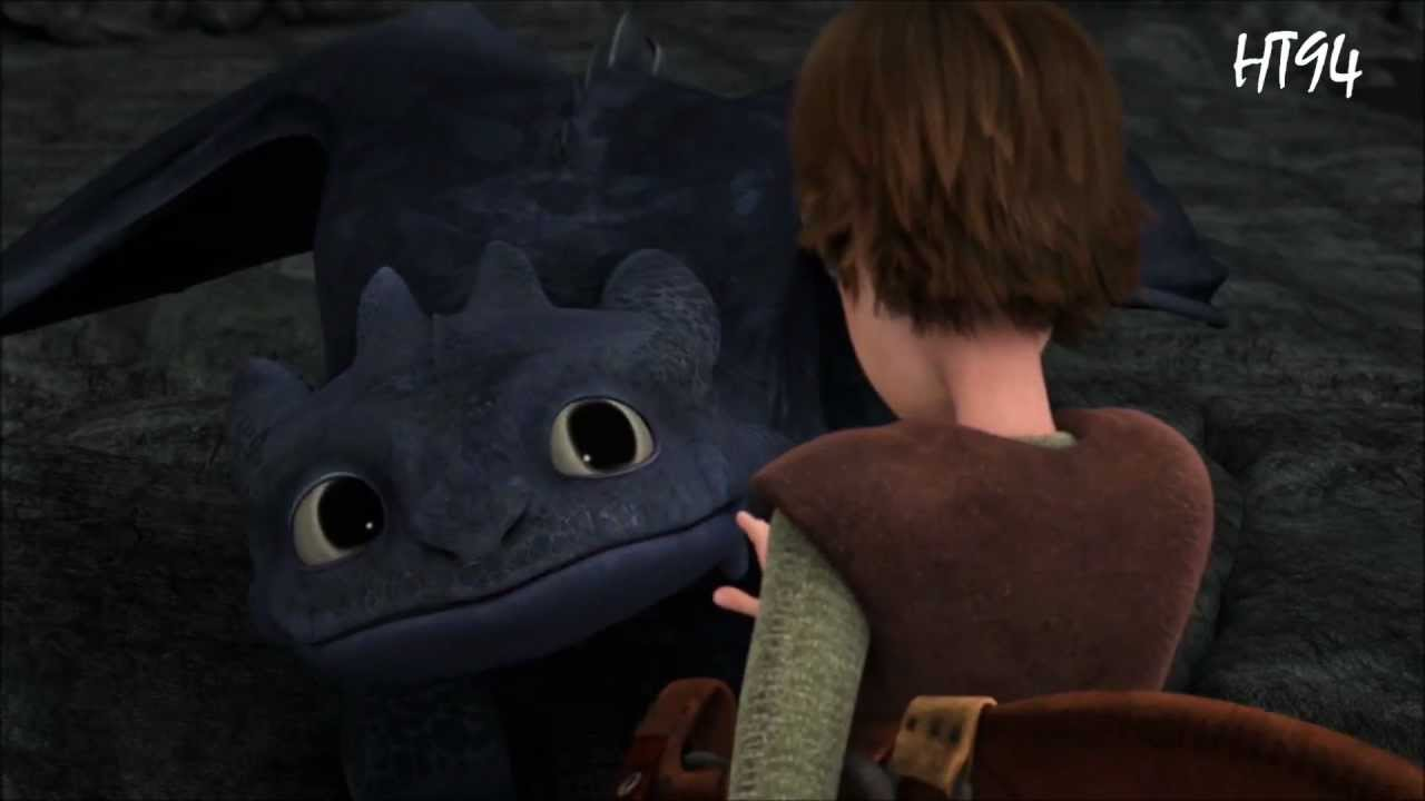 Hiccup To Toothless Last Goodbye Youtube