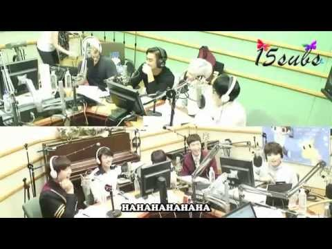 [engsub] 140910 Kiss The Radio With Super Junior [15subs] video