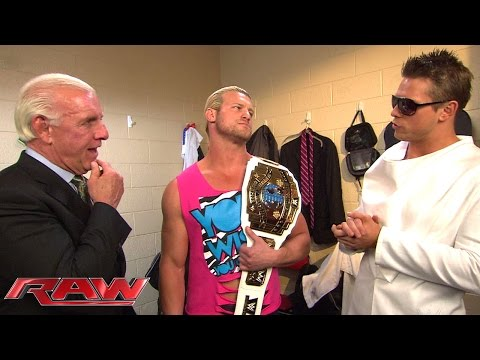 Ric Flair congratulates Dolph Ziggler on his Intercontinental Title win: Raw, Aug. 18, 2014