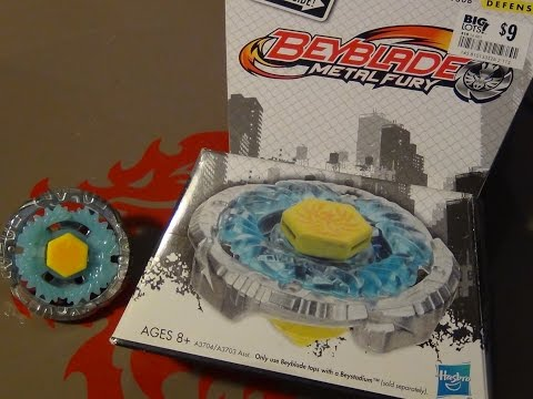 Beyblade Metal Fury! JADE JUPITER 130B Unboxing! (Big Lots Exclusive)