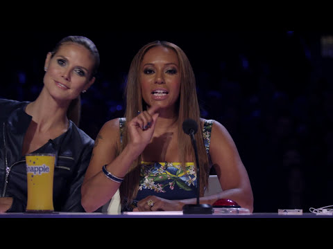 Red Panda - Act Juggles Rings and Tosses 5 Bowls On Her Head - America's Got Talent Semi-Finals 2013