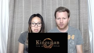 The Kingsman: The Golden Circle Official Trailer Reaction and Review