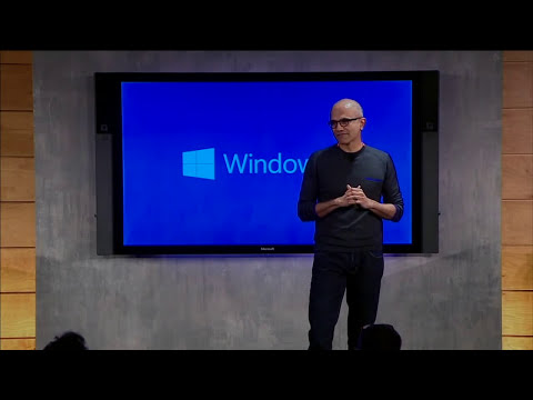 Microsoft's Windows 10 event in 8 minutes