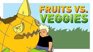 Fruit Beasts vs. Veggie Monsters