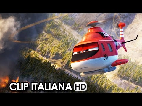 Planes 2: Missione antincendio Clip Italiana 'In volo con i Canadair' (2014) - Movie HD