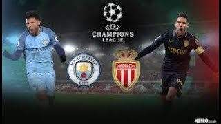 AS Monaco vs Manchester City 6-6 Goals and Highlights