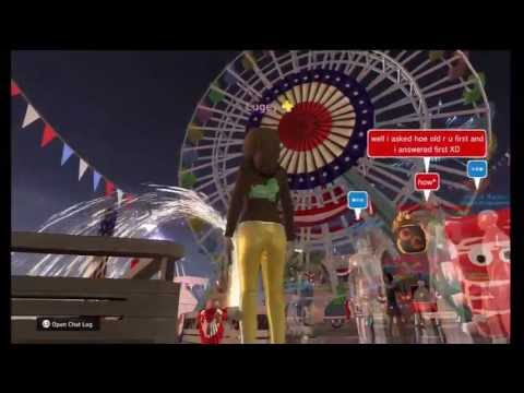 Pier Park 4th of JULY!! PlayStation Home.
