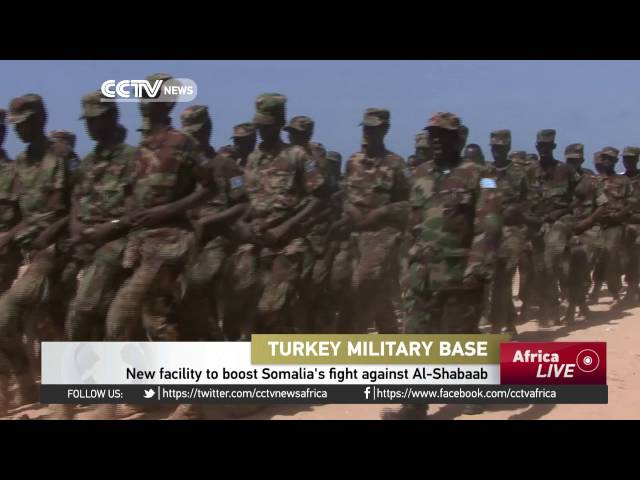 Turkey equips first military base in Africa