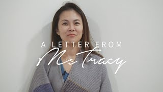 A Letter To My PSLE Students   Tracy Yong