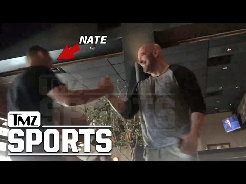 Nate Diaz, Dana White -- Lunch Over Conor Rematch Blows Up